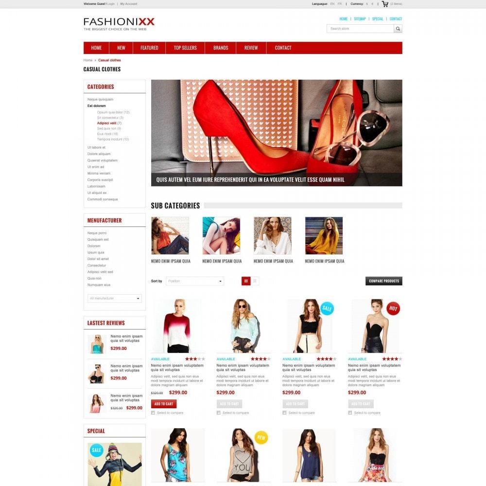 Fashion Store PrestaShop Theme - ET Fashionixx