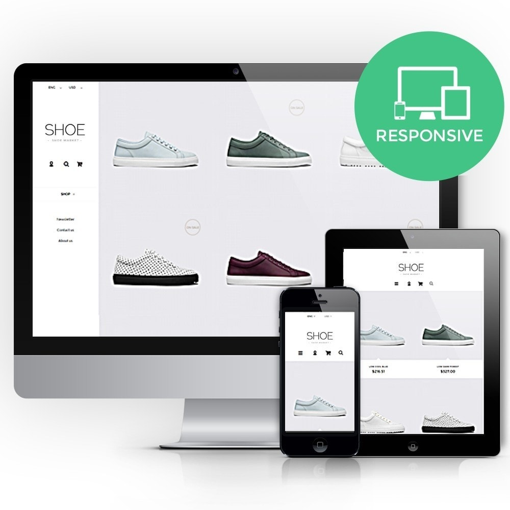 Shoes Store Prestashop 1.6 Responsive