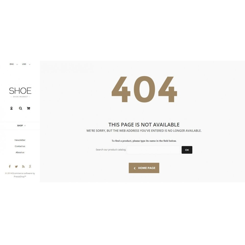 theme - Moda & Obuwie - Shoes Store Prestashop 1.6 Responsive - 13