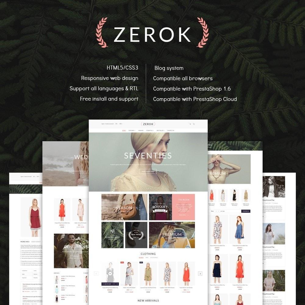 theme - Mode & Chaussures - Zerok - Fashion Store - 1