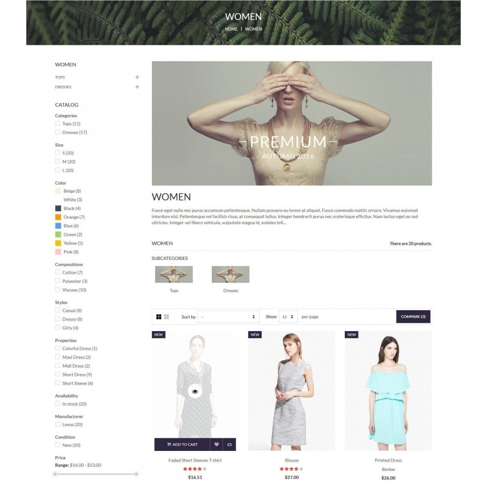 theme - Mode & Schuhe - Zerok - Fashion Store PrestaShop Theme - 5