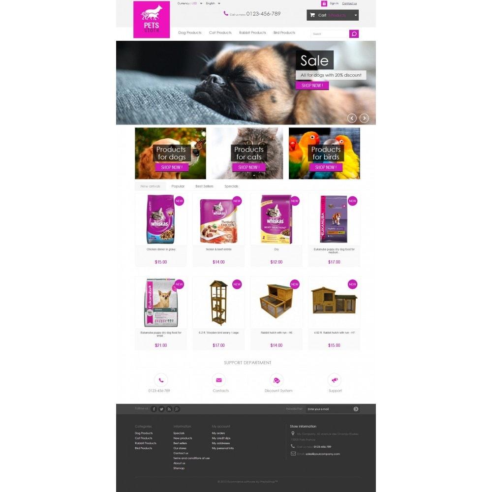 Pets Store 1.6 Responsive