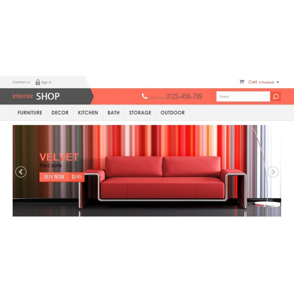 Interior Shop 1.6 Responsive