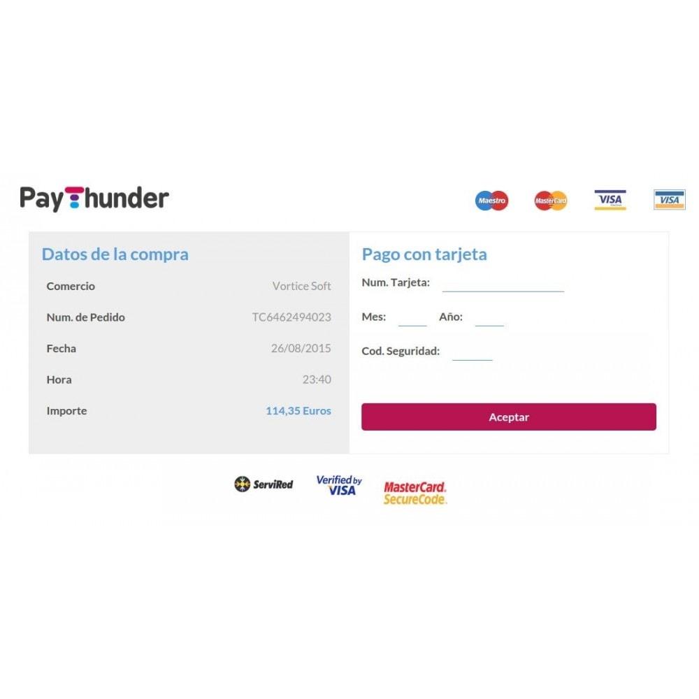 module - Paiement par Carte ou Wallet - PayThunder - 3