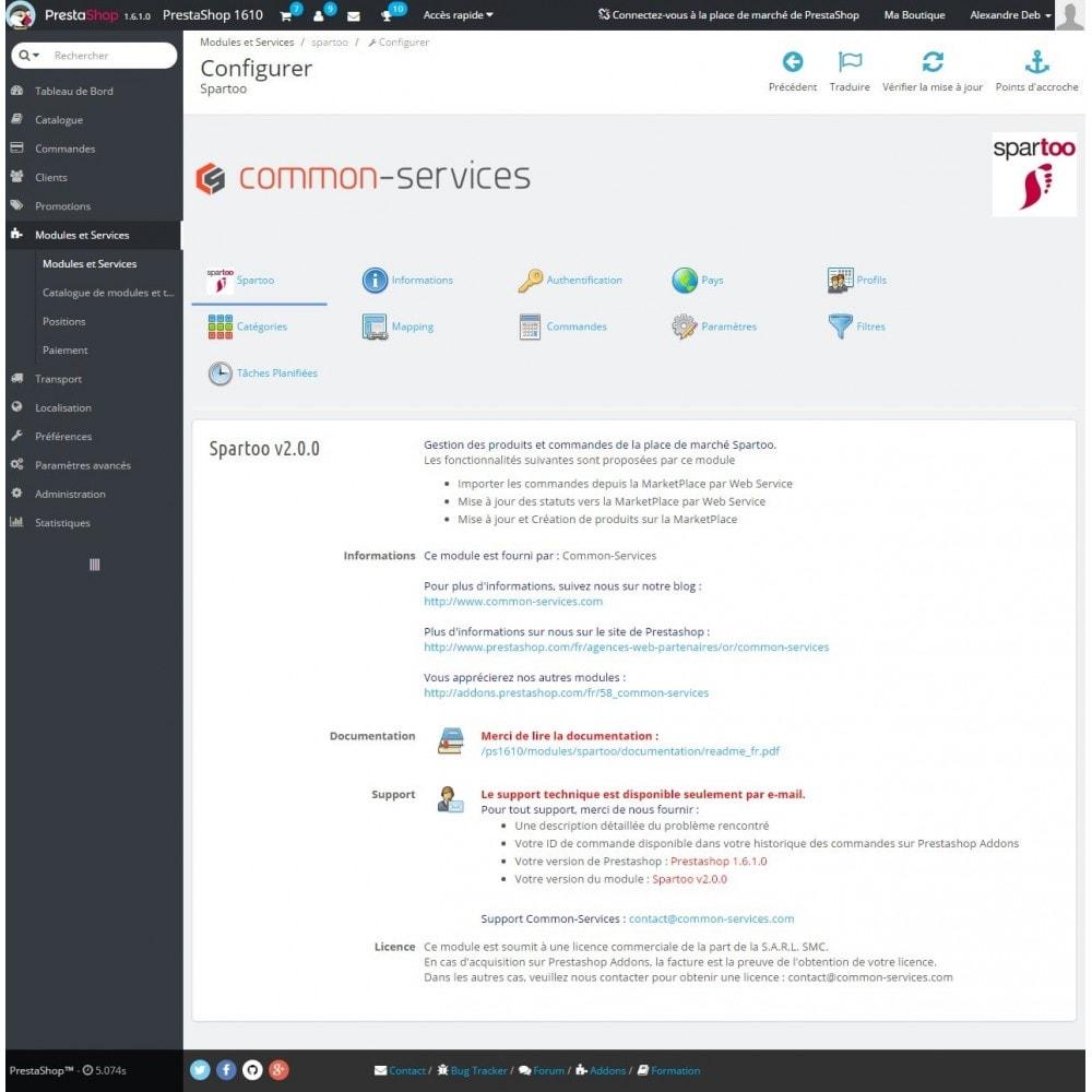 module - Platforma handlowa (marketplace) - Spartoo - 1