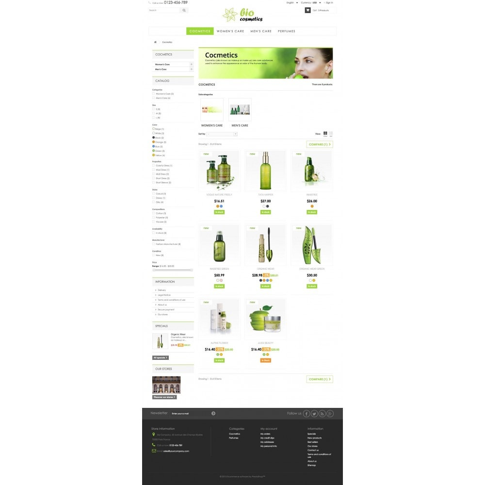 theme - Health & Beauty - GioCosmetics 1.6 Responsive - 5