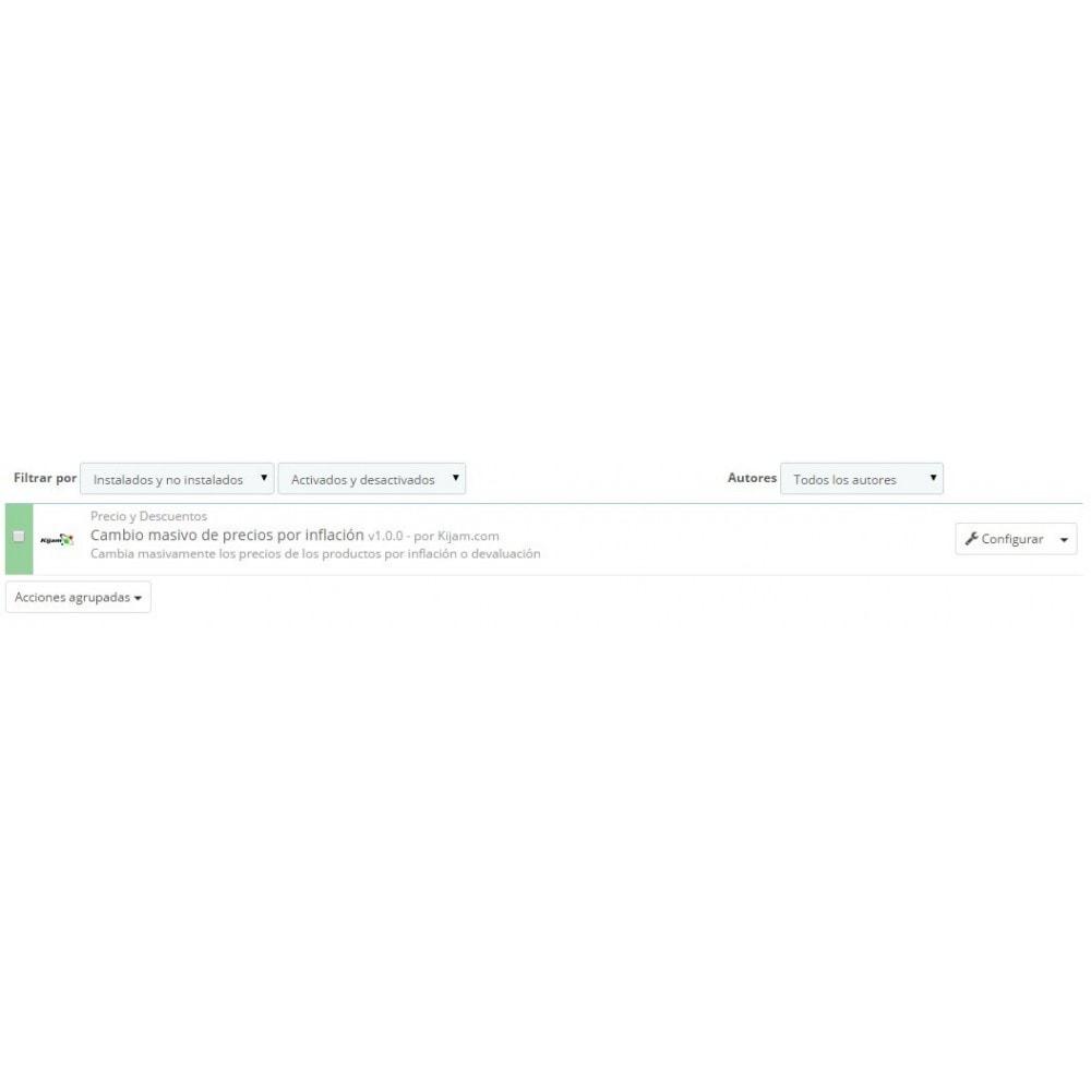 module - Edición Rápida y Masiva - Ajuste de precios rápido por tasas de inflación - 1