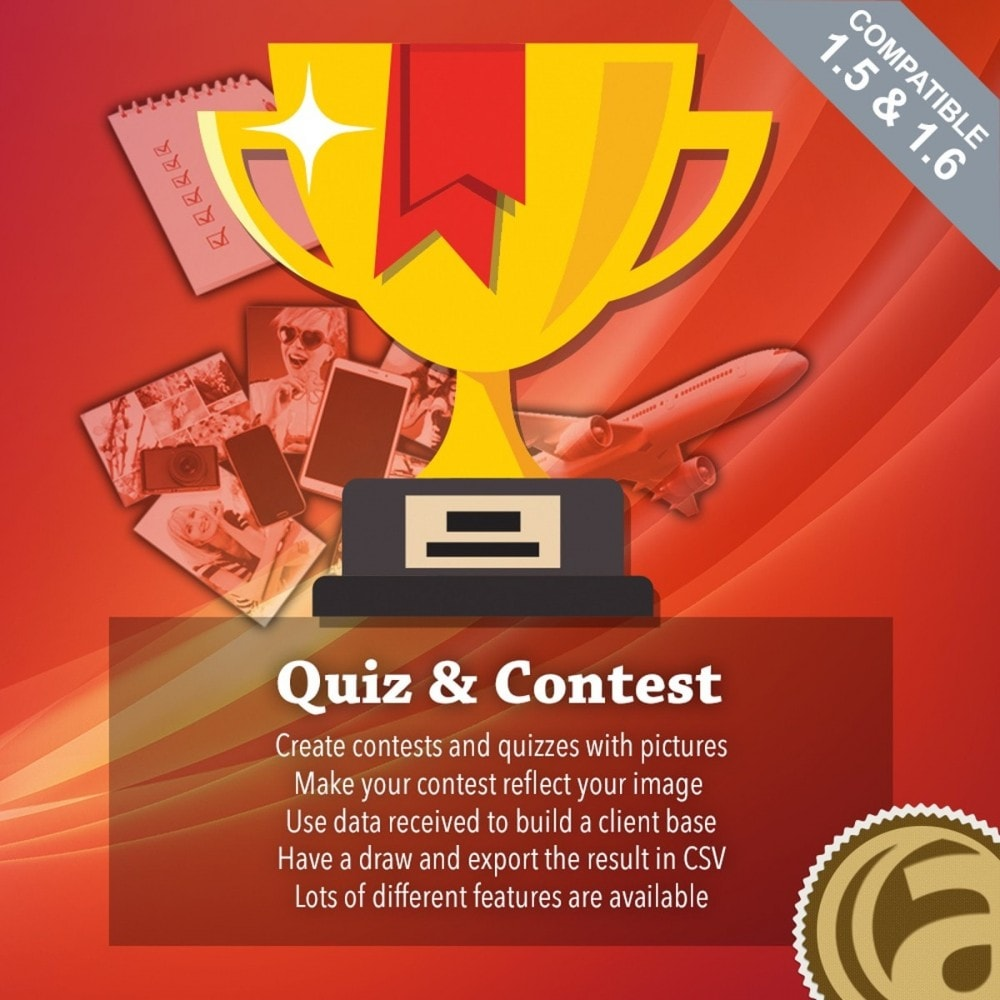 module - Concurso - Quiz and contests - 1