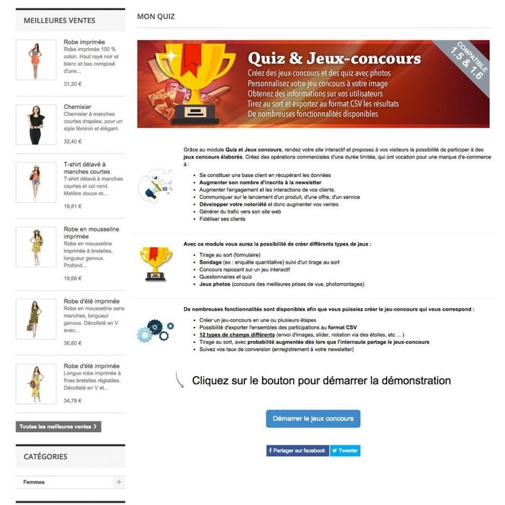 module - Jeux-concours - Quiz et Jeux-concours - 2