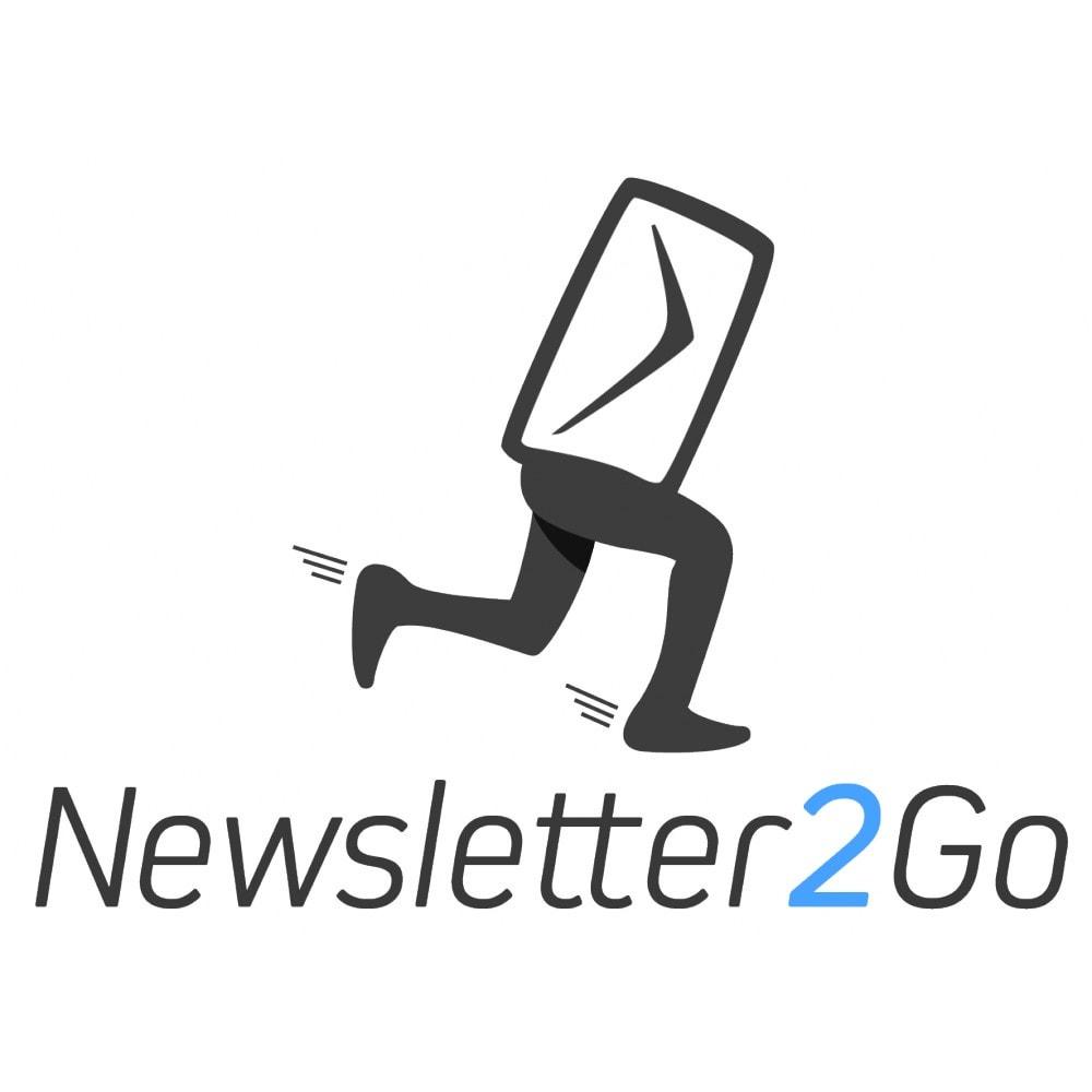 module - Newsletter & SMS - Newsletter2Go - 1