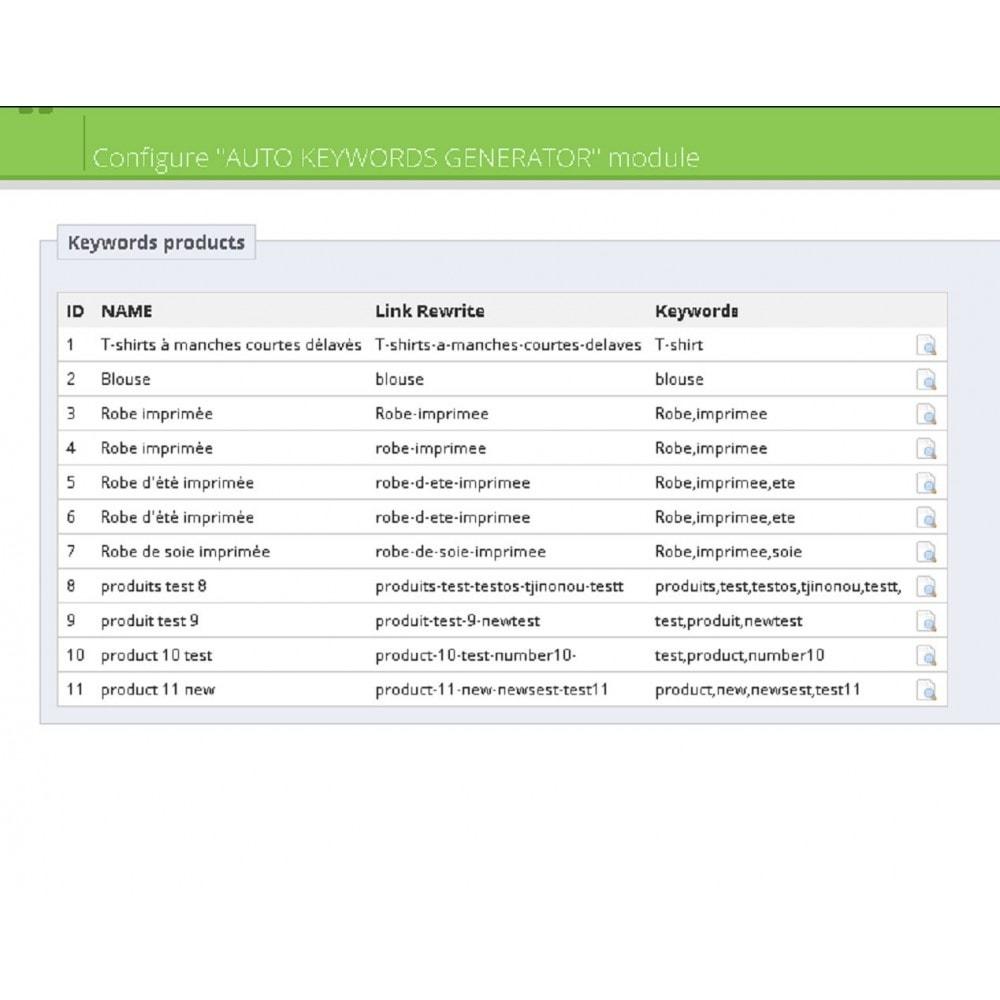 module - Естественная поисковая оптимизация - AUTO KEYWORDS GENERATOR - 7