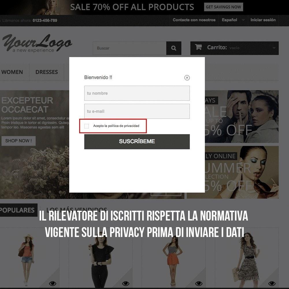 module - Email & Notifiche - Integrazione Benchmark Mail Marketing - 7