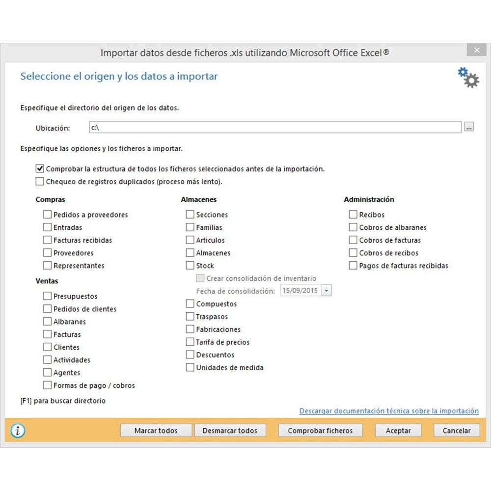 module - Integración con CRM, ERP... - Conector FactuSOL PROFESIONAL - 15