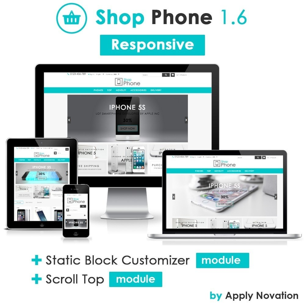 theme - Electronics & Computers - Shop Phone - 1