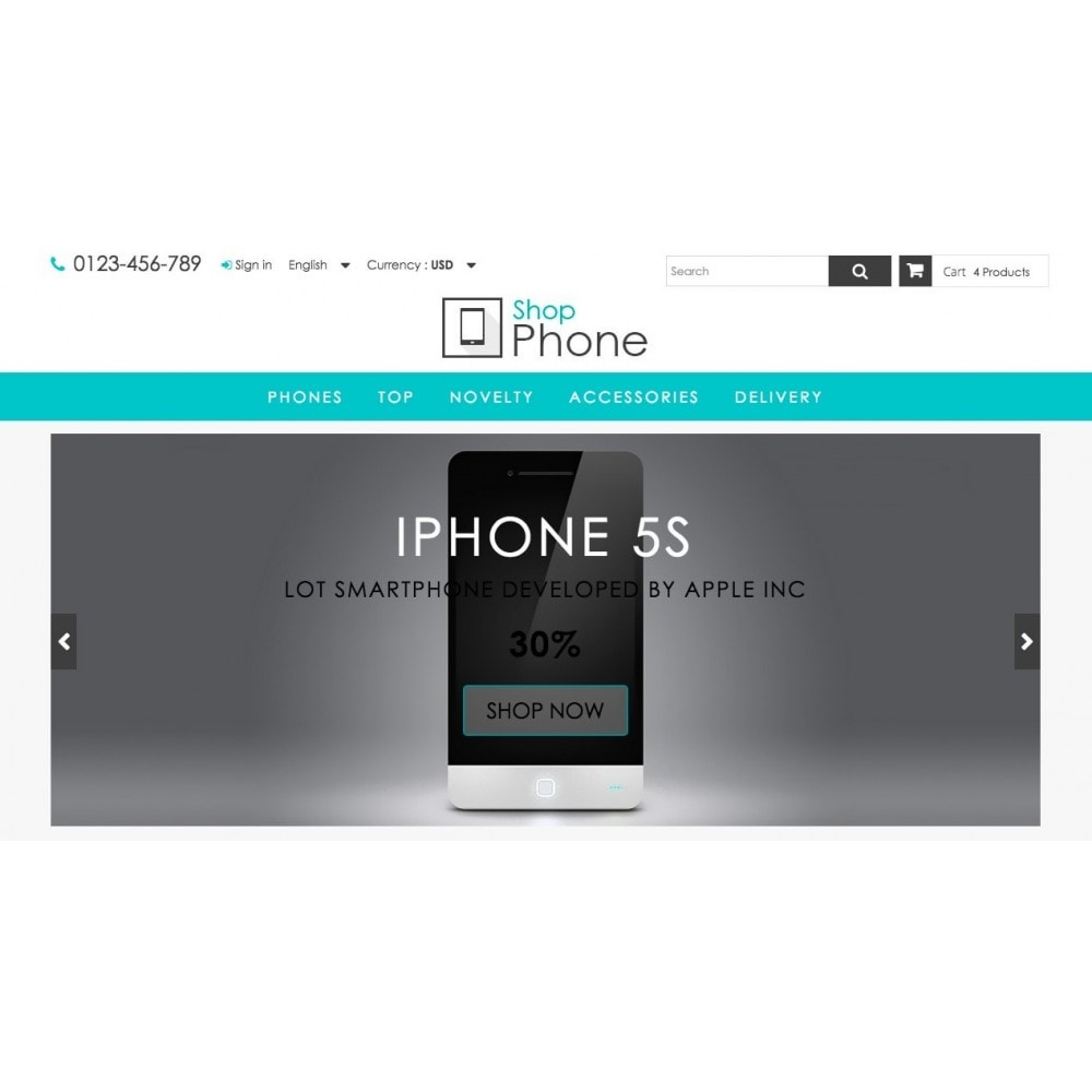 theme - Elektronik & High Tech - Shop Phone 1.6 Responsive - 3