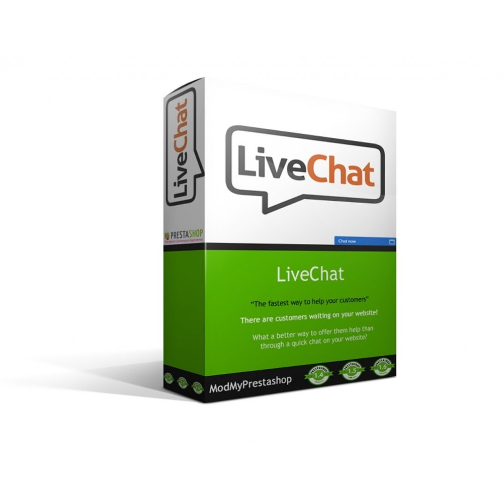 module - Supporto & Chat online - LiveChat - 1