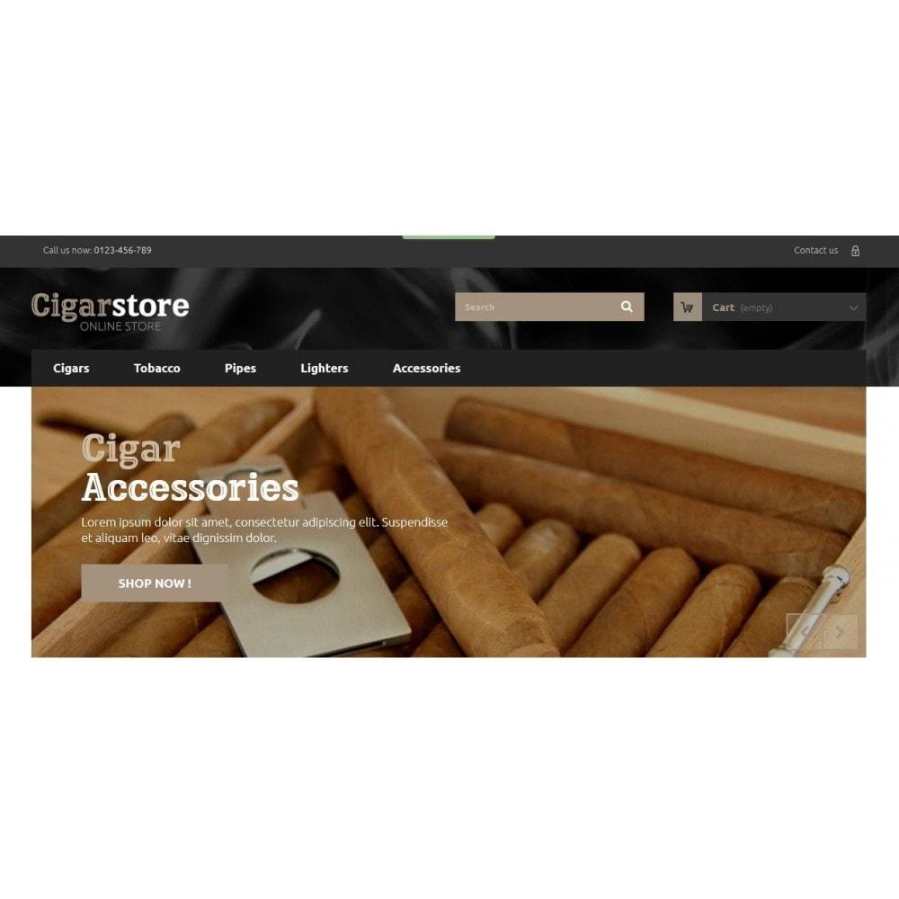 Cigar Store 1.6 Responsive