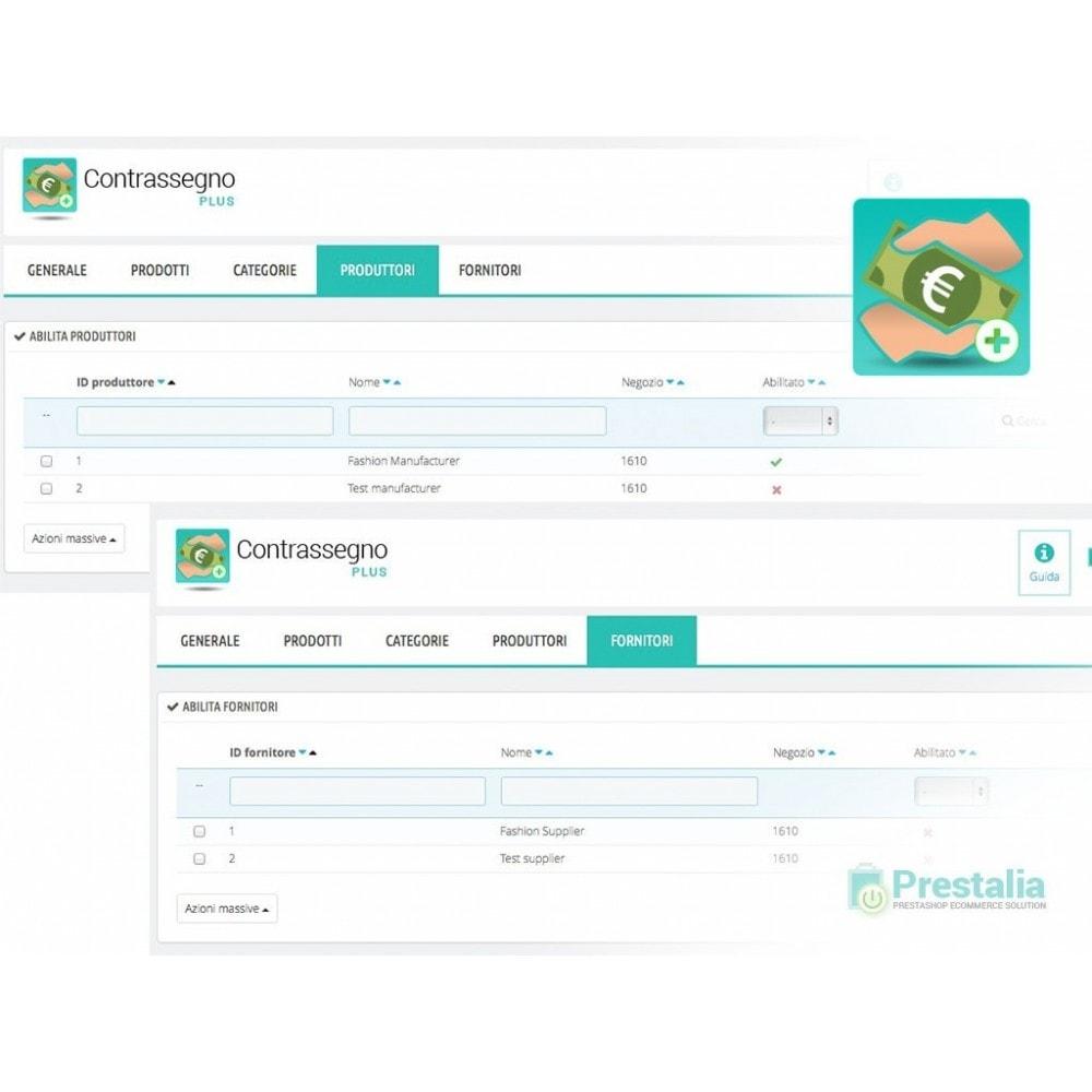 module - Pagamento alla Consegna (in contrassegno) - Pagamento contrassegno con ricarico e filtri avanzati - 6
