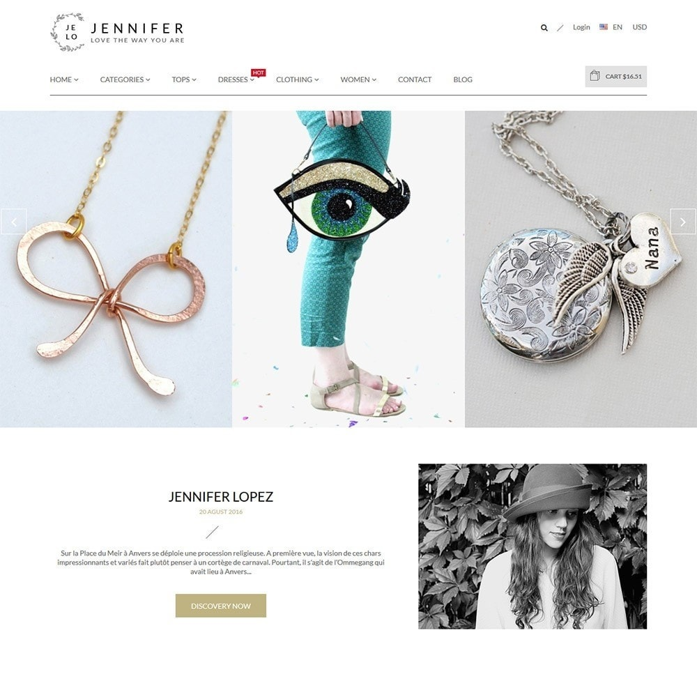 theme - Joyas y Accesorios - Jennifer - Beauty Store PrestaShop Theme - 2