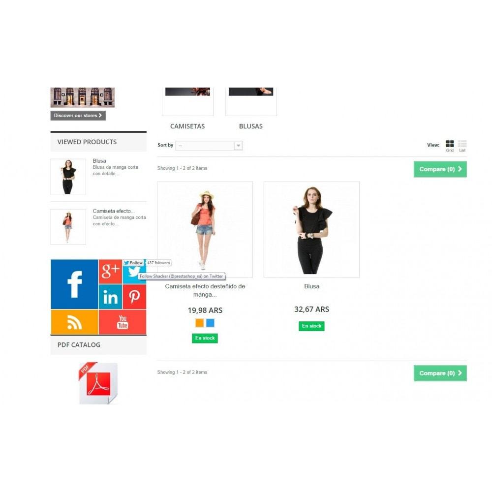 module - Widgety serwisów społecznościowych - Metro Social - Follow module - 7