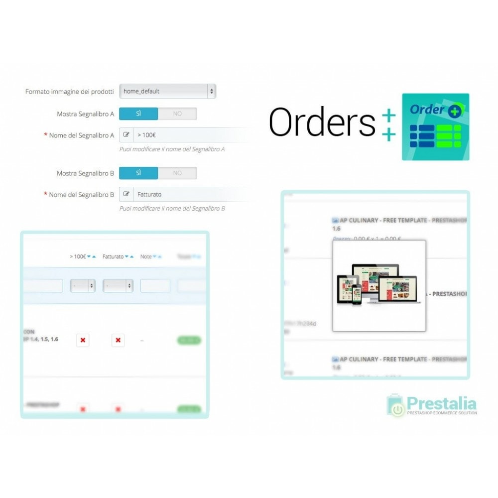 module - Orderbeheer - Advanced Orders List with filters and special features - 4