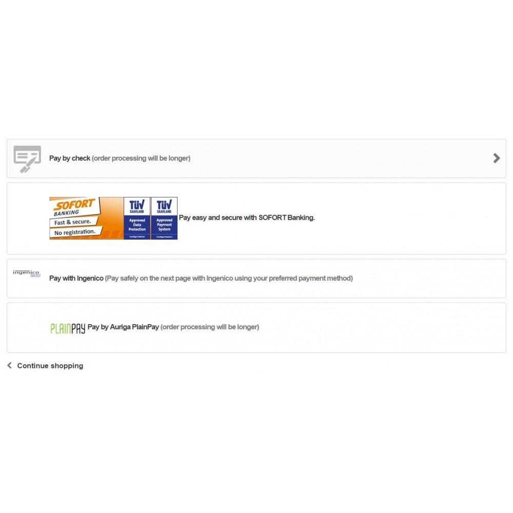 module - Pagamento con Carta di Credito o Wallet - Auriga PlainPay - Soluzione facile di Pagamento - 2