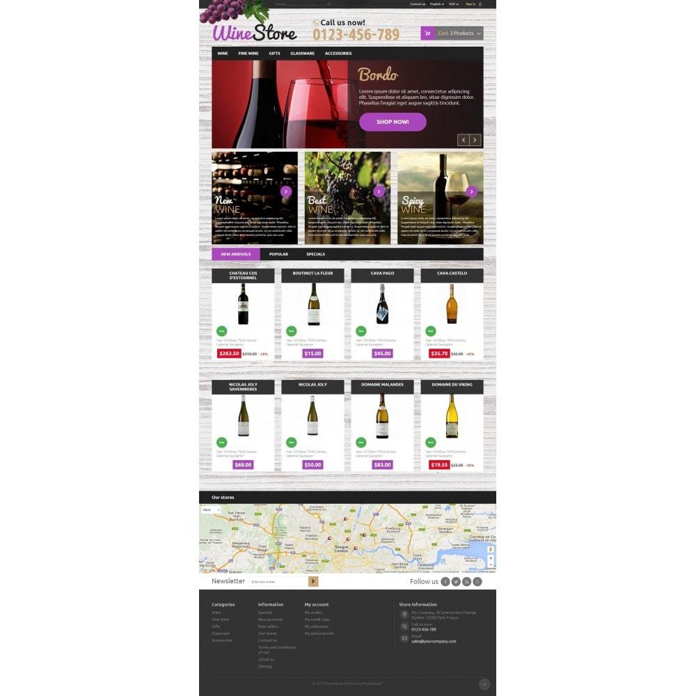theme - Getränke & Tabak - Wine Store 1.6 Responsive - 2
