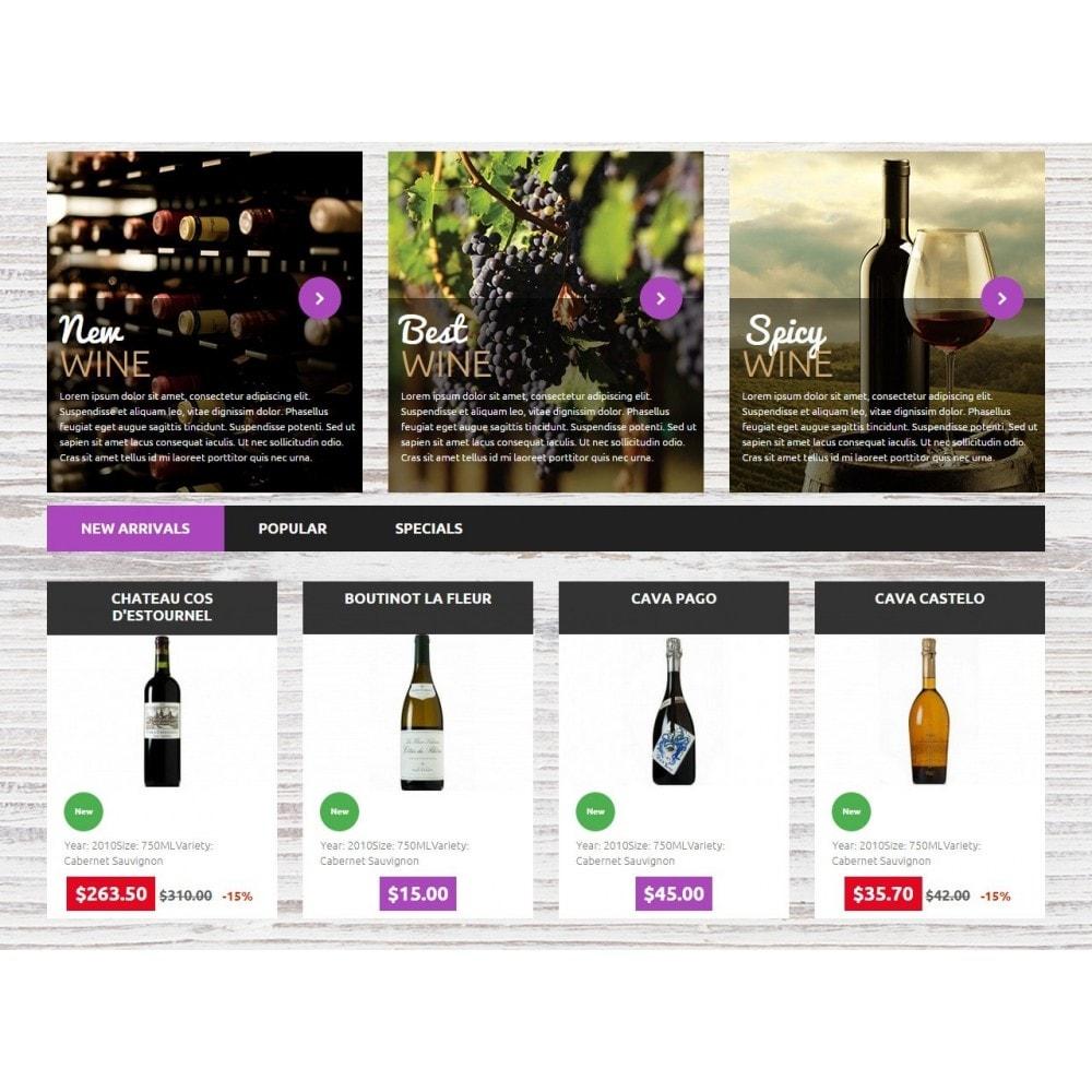 theme - Bebidas y Tabaco - Wine Store - 4
