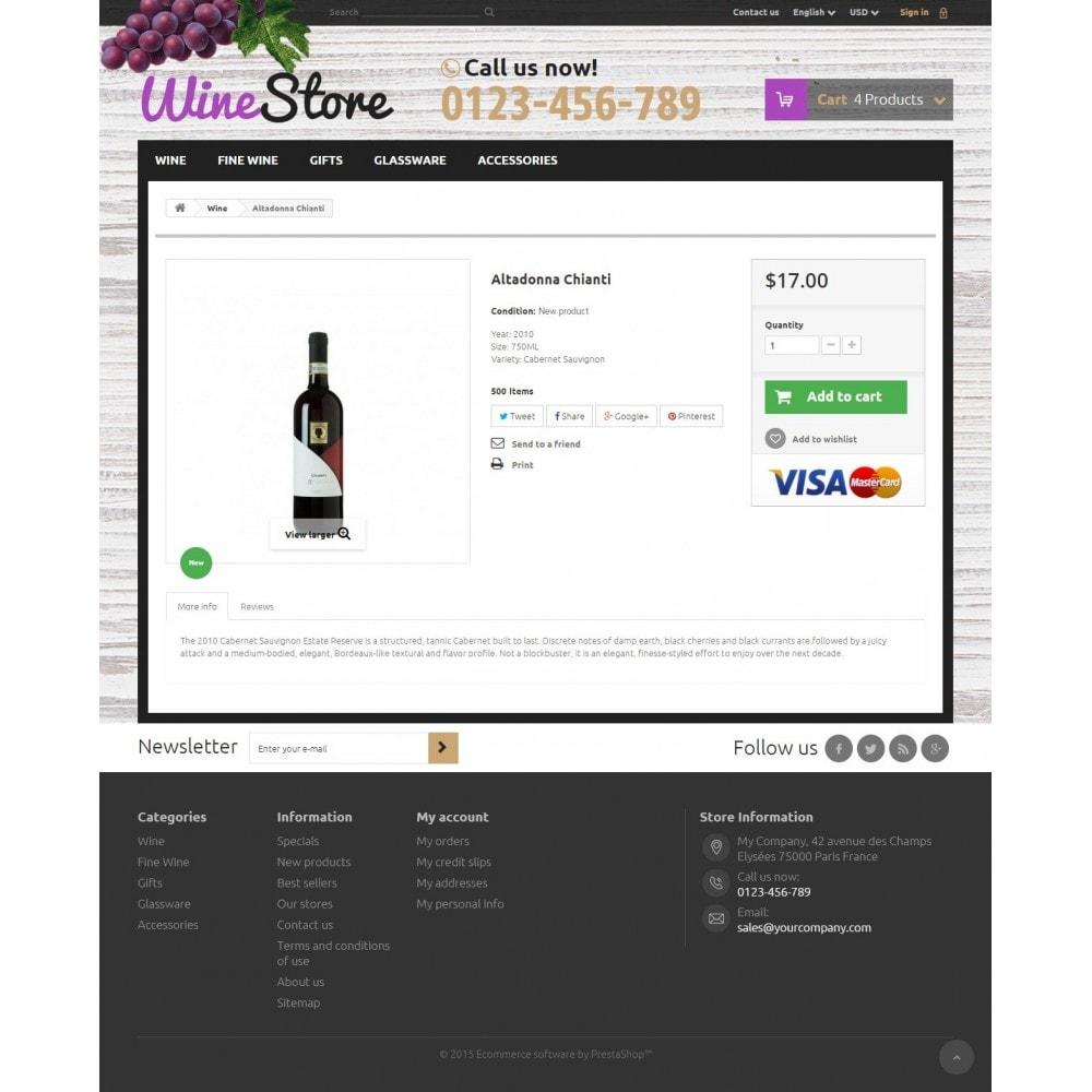 theme - Bebidas y Tabaco - Wine Store - 7