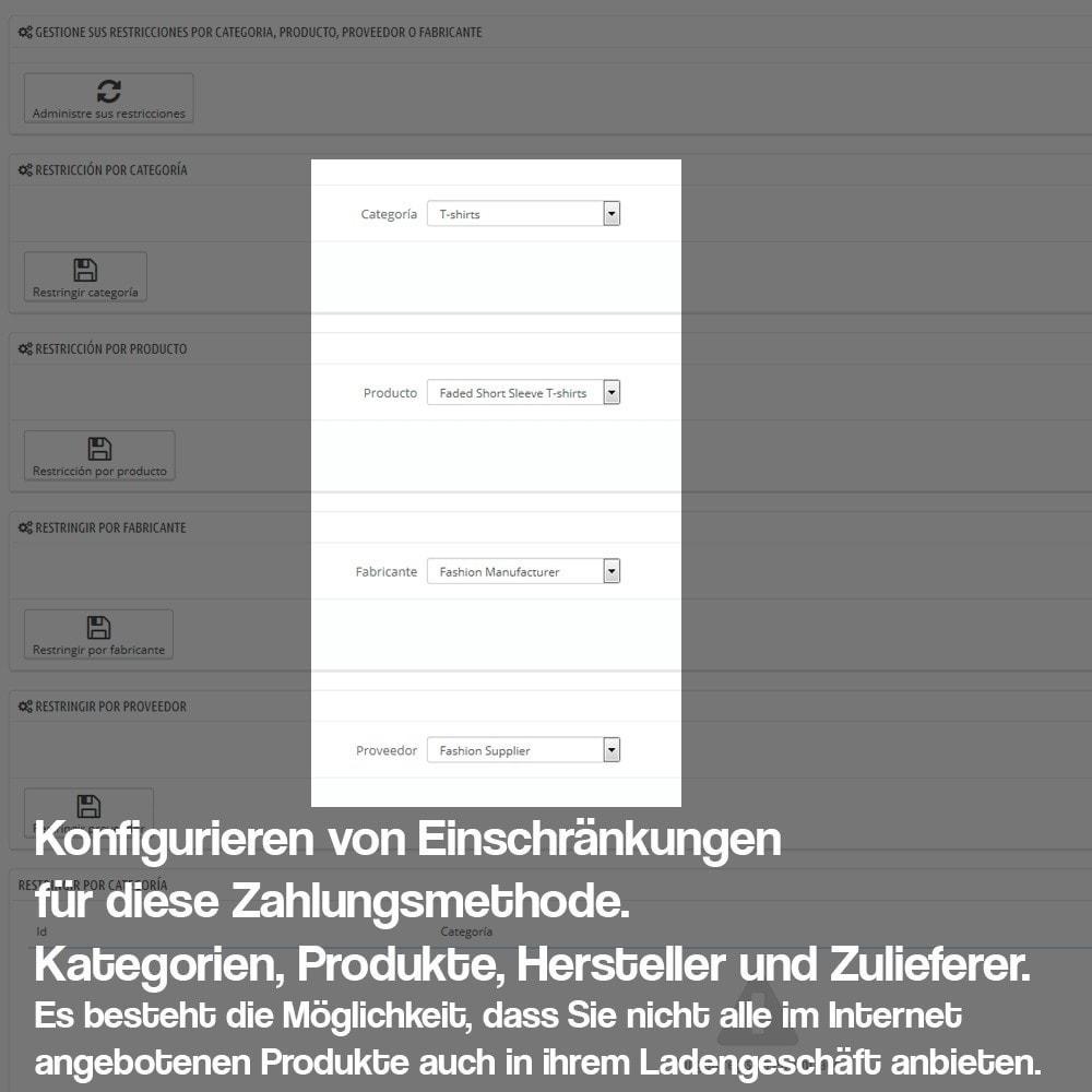 module - Zahlung am POS - Bezahlung in Ihrem Ladengeschäft (wahlweise Kommission) - 6