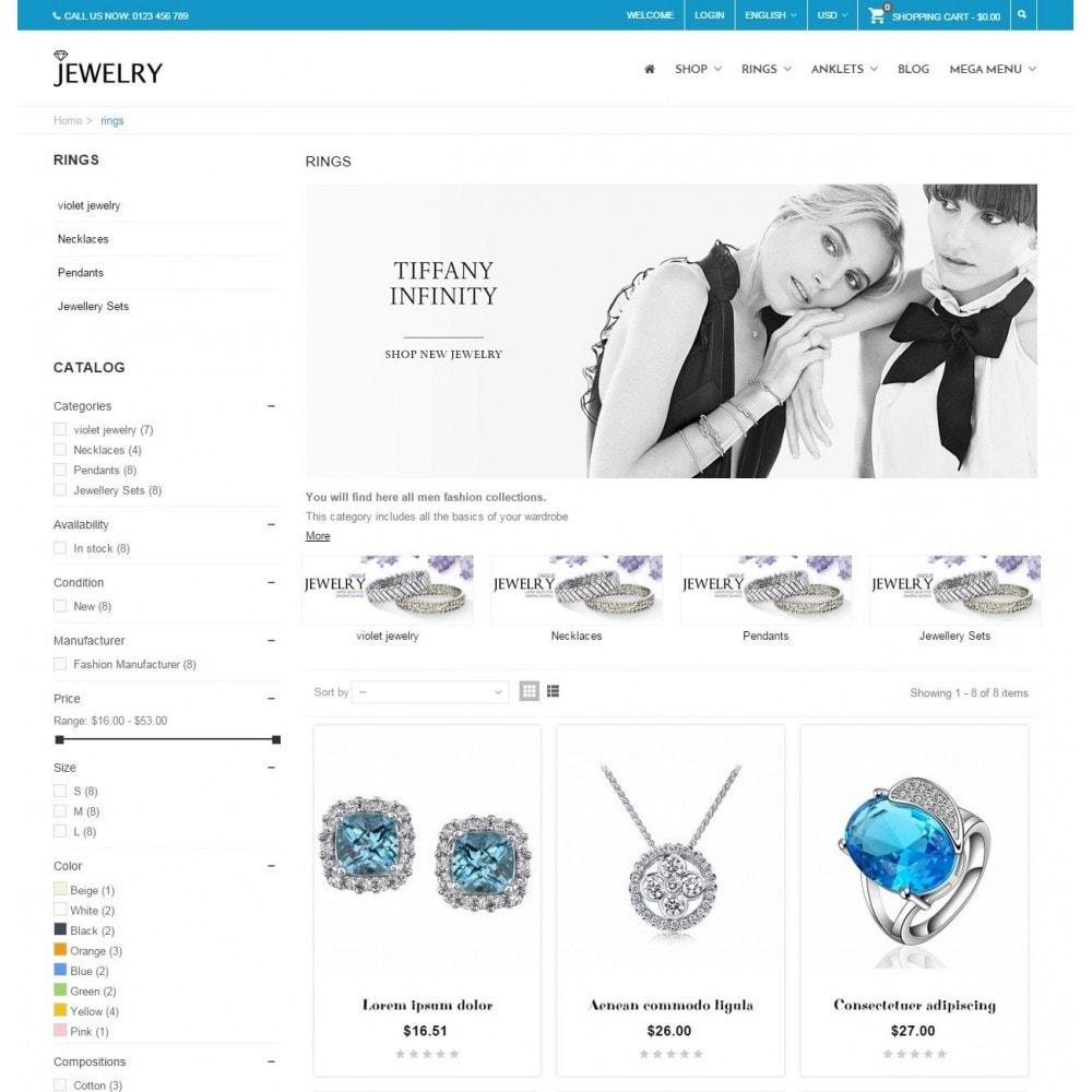 Jewelry - Responsive Prestashop Theme