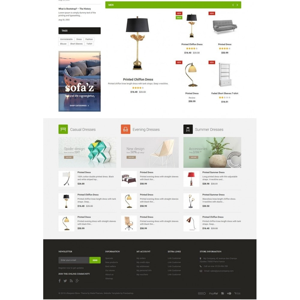 theme - Dom & Ogród - LifeSpace - Furniture Store Responsive PrestaShop - 3