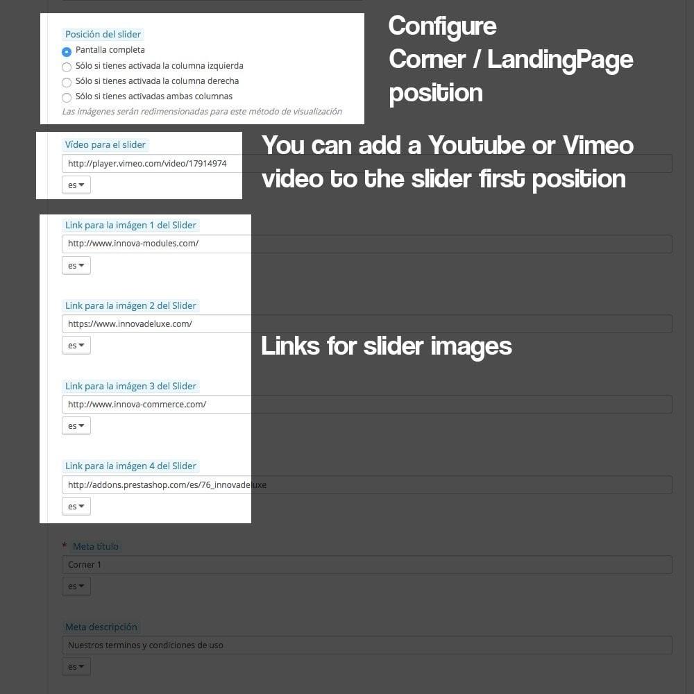 module - SEO - Landing pages, cornes or microsites creator - 9