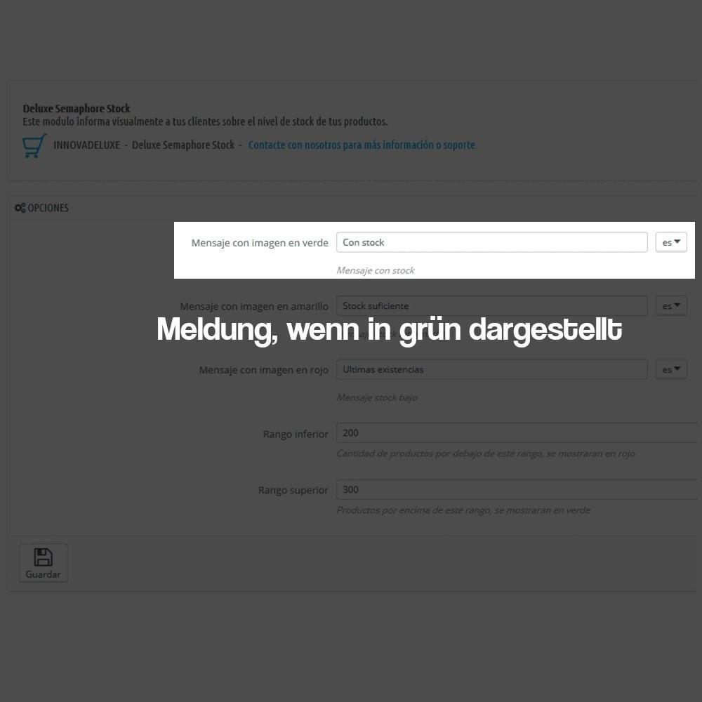 module - Zusatzinformationen & Produkt-Tabs - Anzeige des Warenbestandes auf der Produktseite - 2