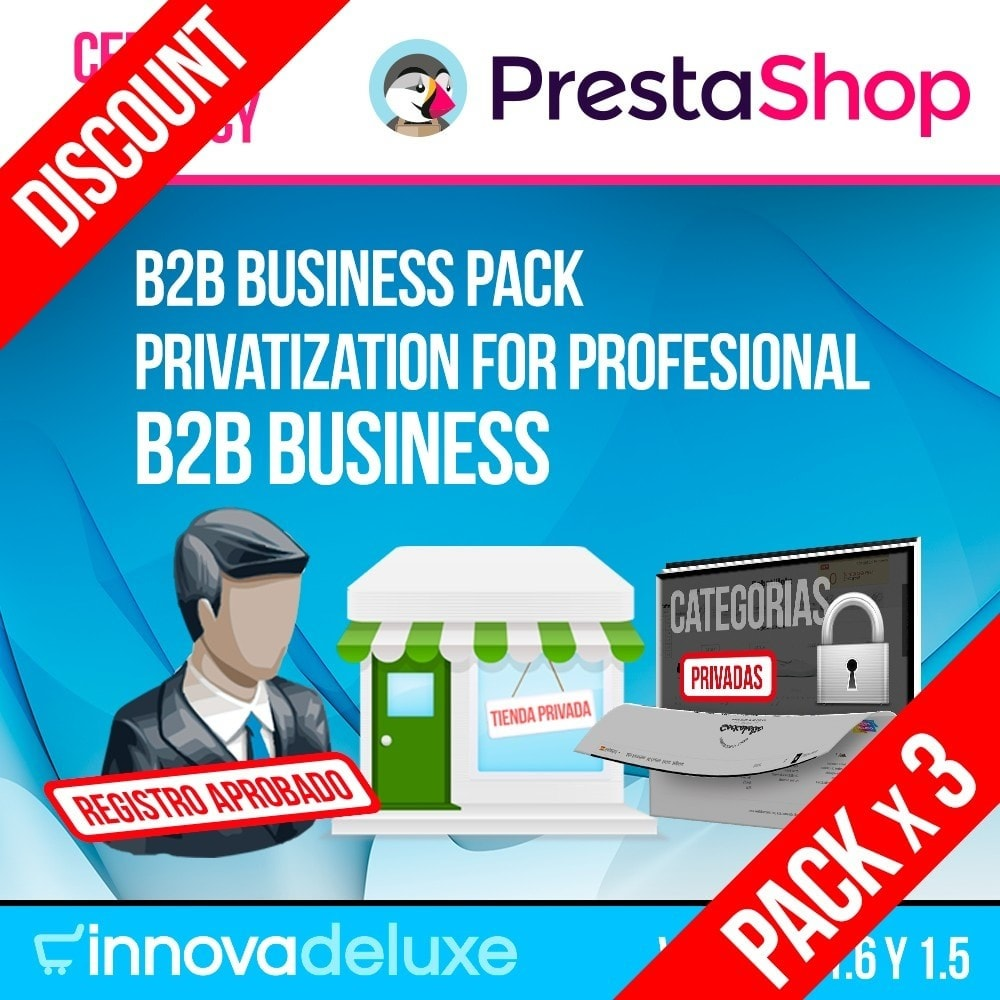 pack - B2B - Pack 1 - B2B Business (privatization for profesionals) - 1