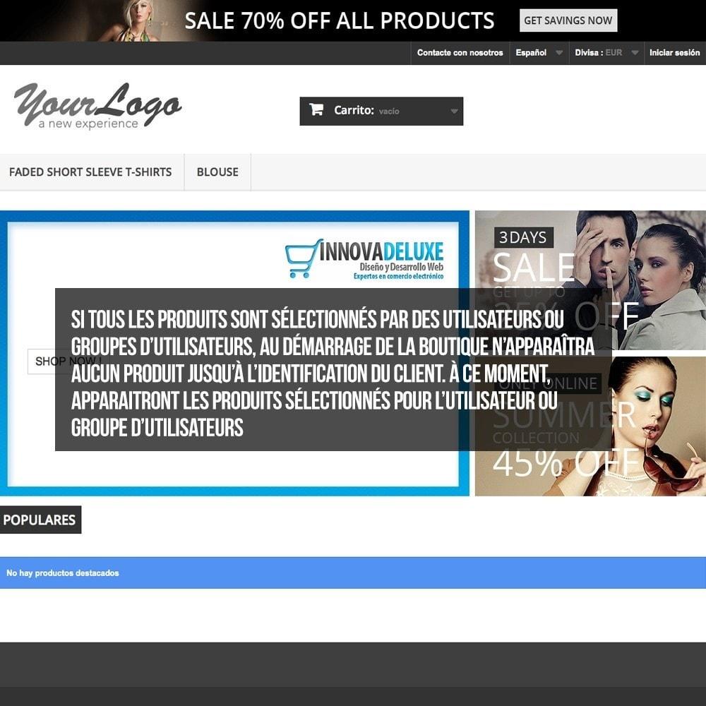 pack - B2B - Pack 2 - Boutique B2B privatisation pour professionnels - 7