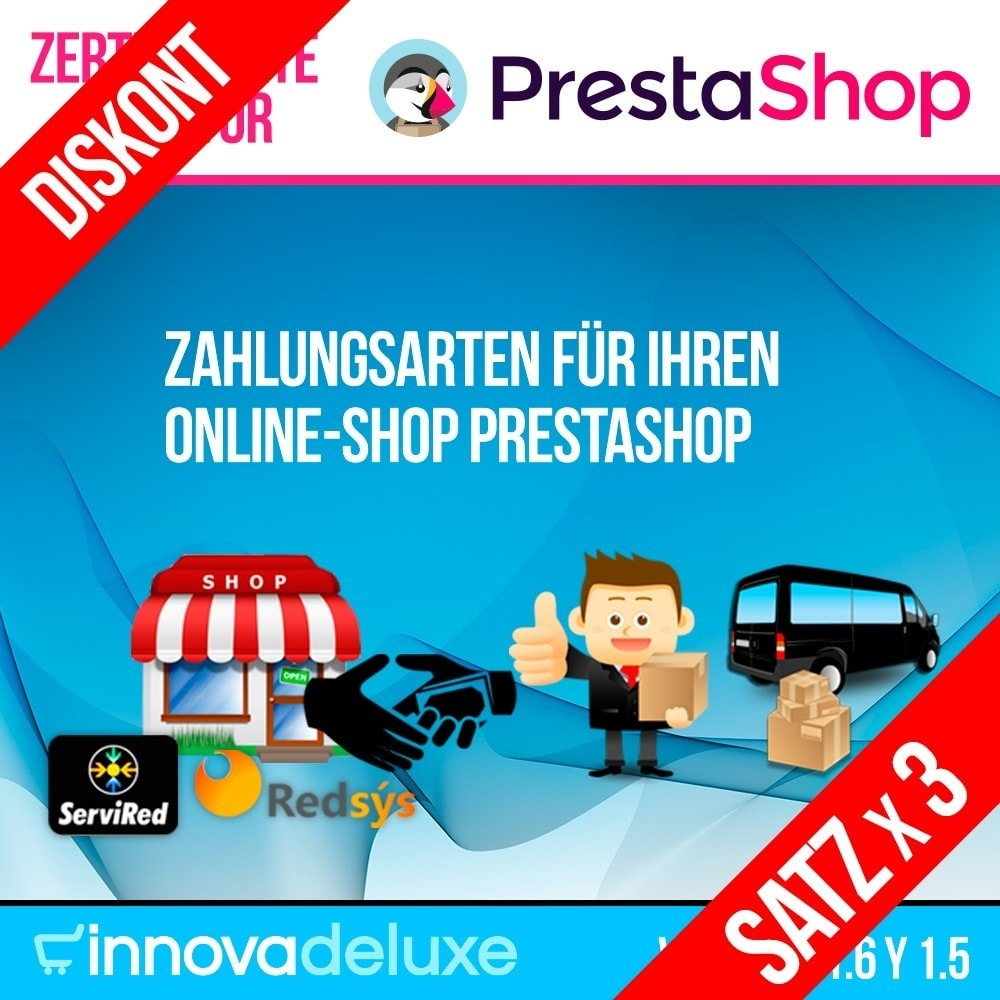 pack - Die Topangebote der Stunde – Jetzt sparen! - Pack 3 - Zahlungsarten für Ihren Online-Shop - 1