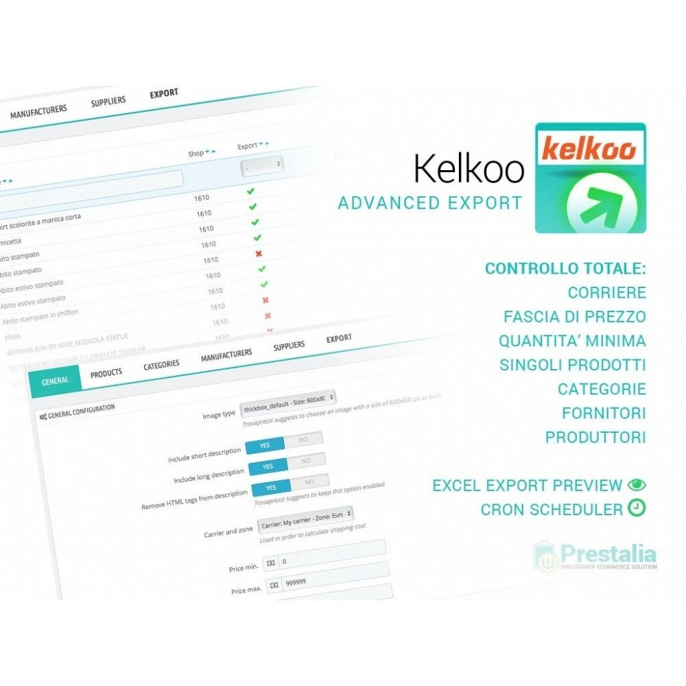 module - Comparatori di prezzi - Esporta per Kelkoo con filtri avanzati - 1