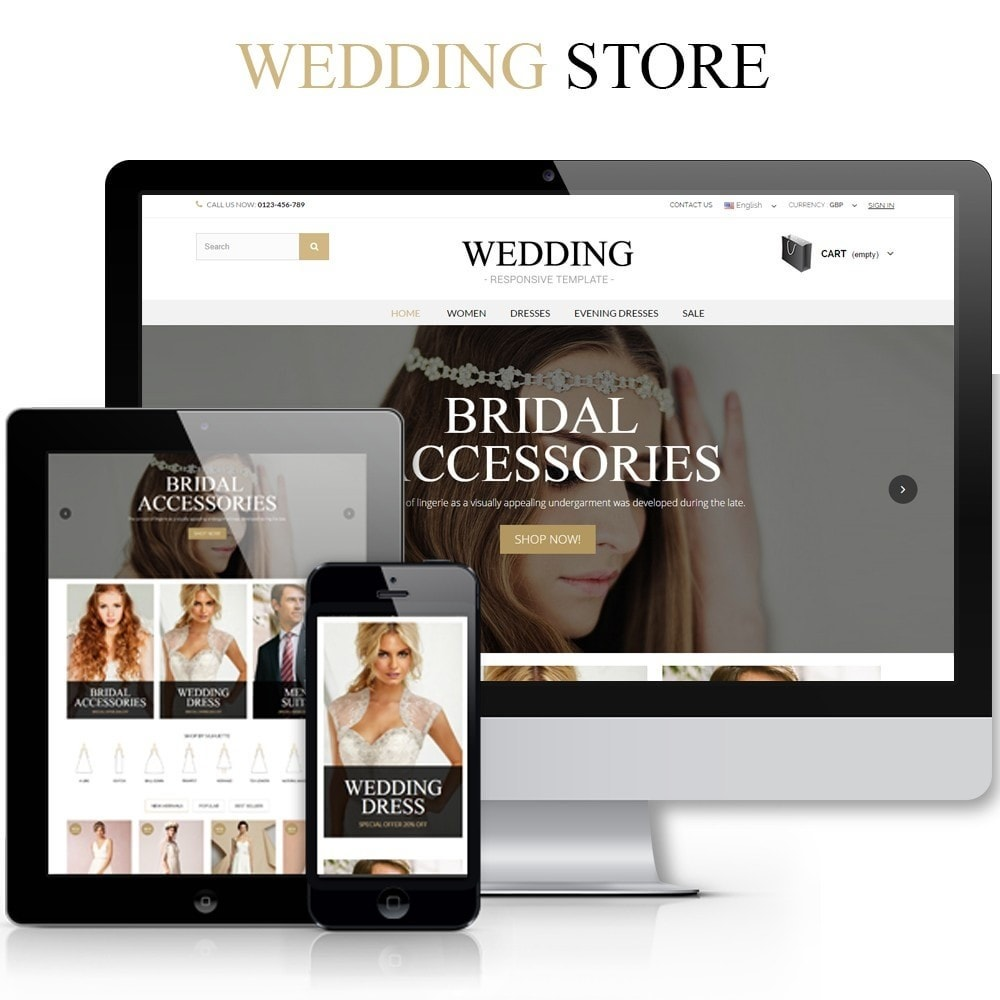 theme - Moda & Calzature - WEDDING STORE 1.6 Responsive Template - 1