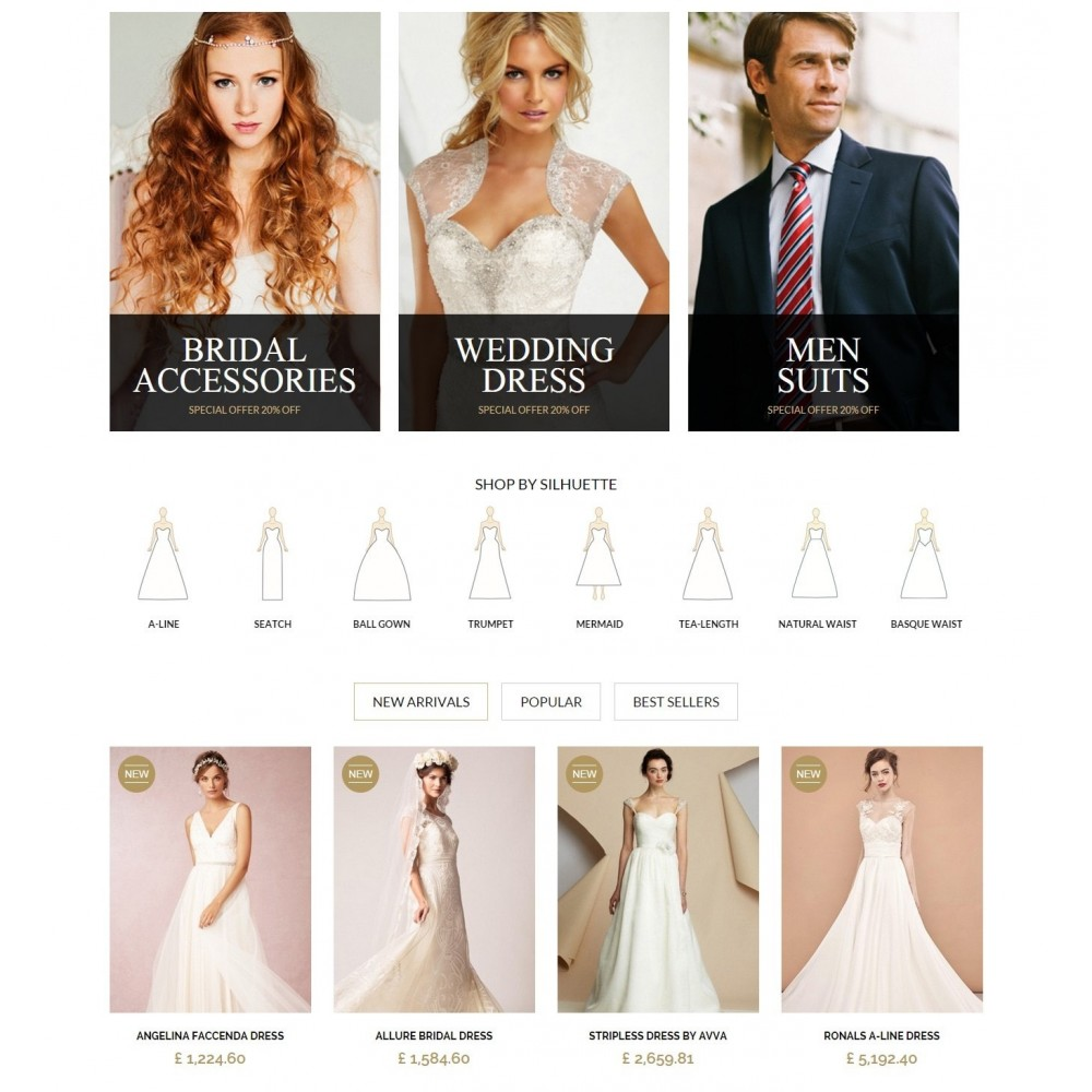 WEDDING STORE 1.6 Responsive Template