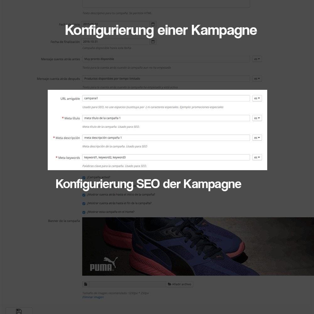 module - Promotion & Geschenke - Verwaltung von Kampagnen (Saisonale Vorschau, Looks) - 7