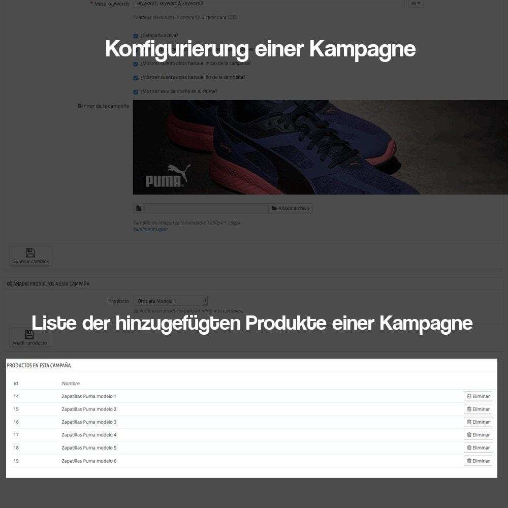 module - Promotion & Geschenke - Verwaltung von Kampagnen (Saisonale Vorschau, Looks) - 11