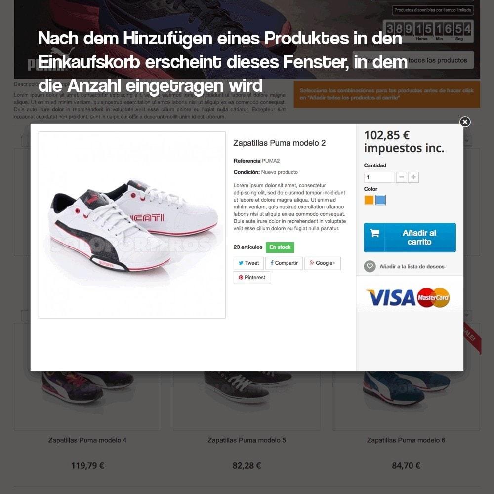 module - Promotion & Geschenke - Verwaltung von Kampagnen (Saisonale Vorschau, Looks) - 15