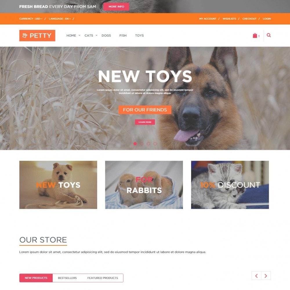 Pets Тема для Магазина Животных