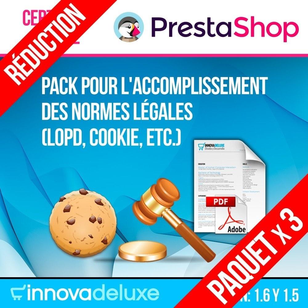 pack - Législation (Loi Hamon) - Pack 4 - pour l'accomplissement des normes légales - 1