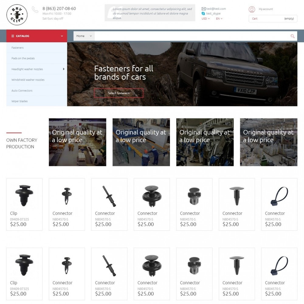 Spare Parts - Auto-Teile-Shop