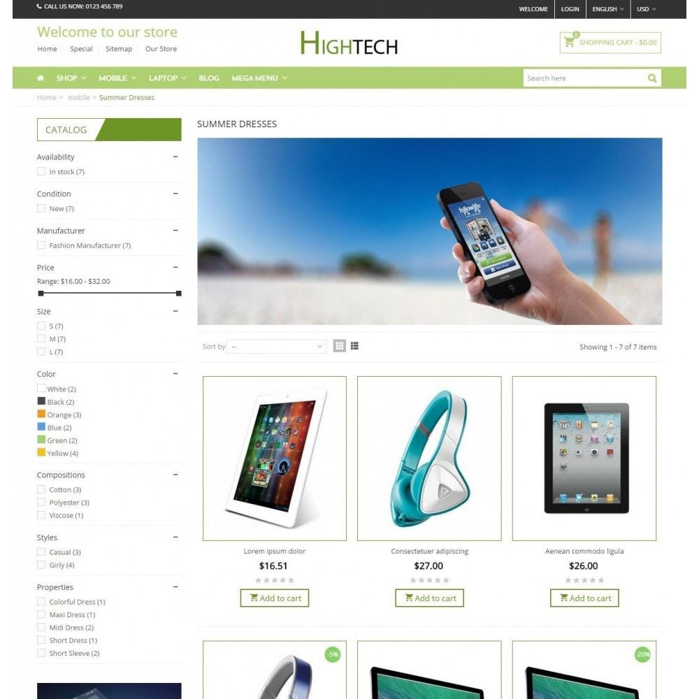 HighTech Store - Responsive Prestashop Theme