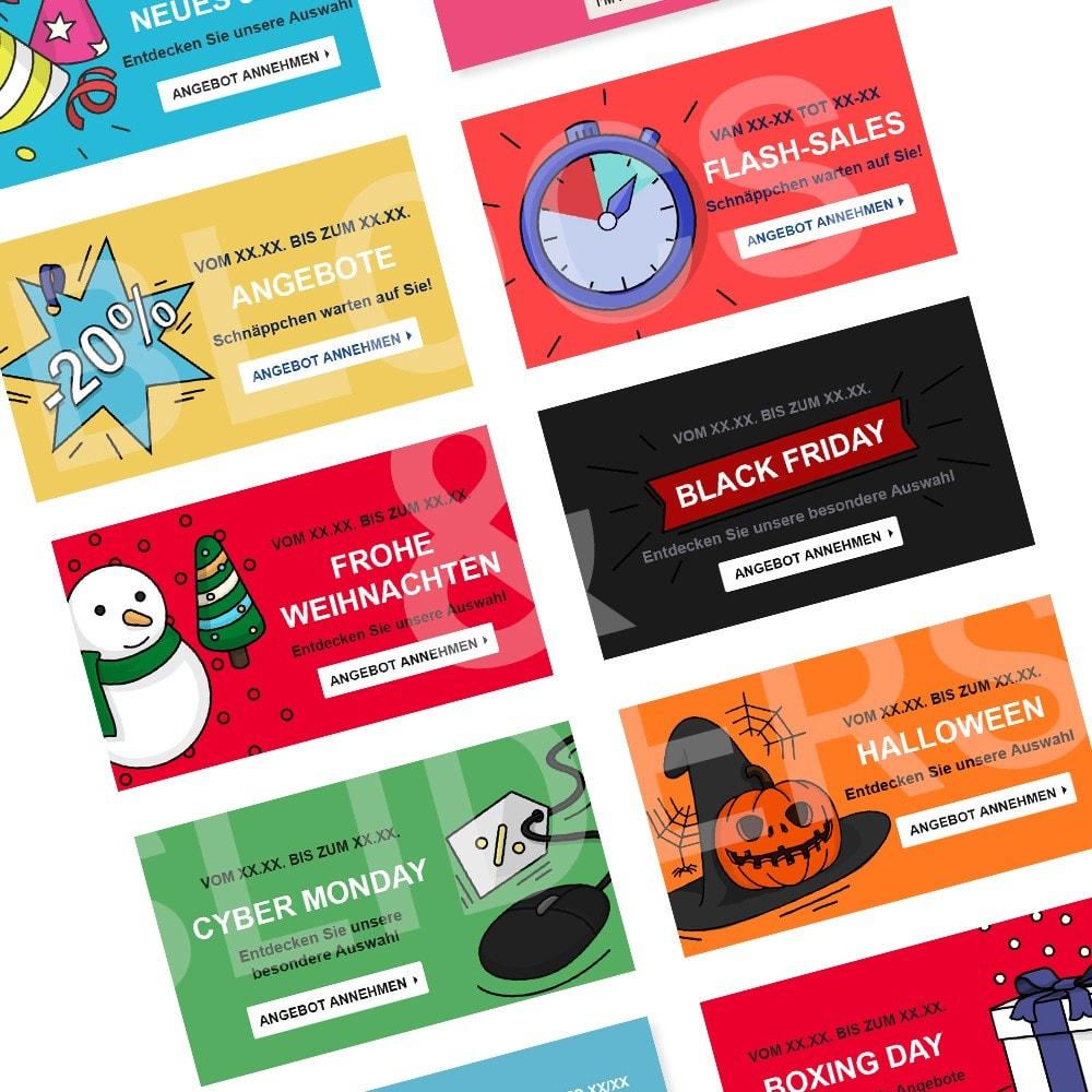other - Bildmaterial für Online-Aktionen - Werbegrafiken - Winter - 1