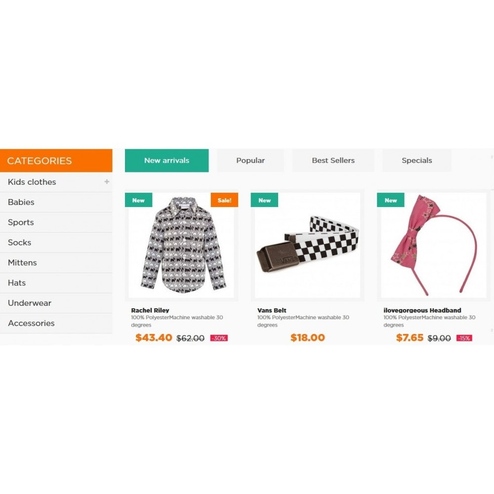 theme - Enfants & Jouets - Kids Clothes 1.6 Responsive - 4