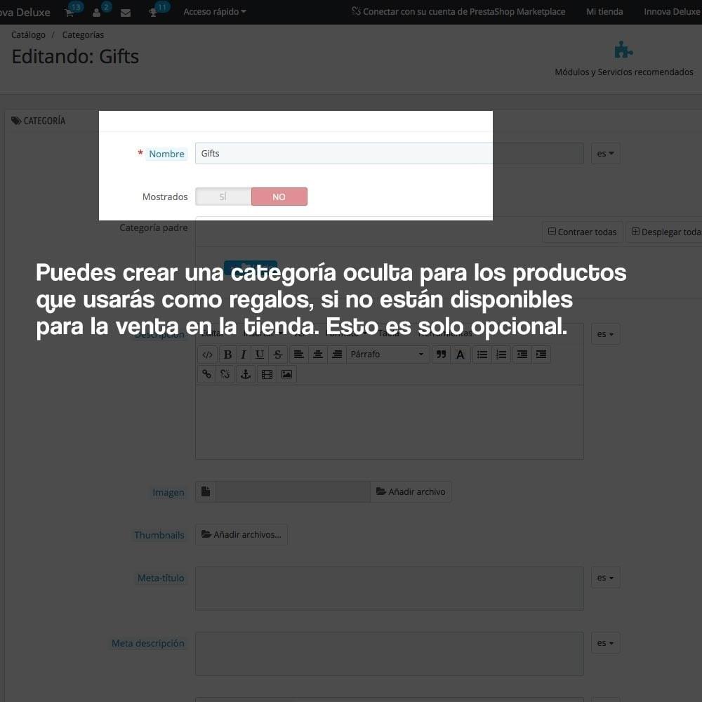module - Promociones y Regalos - Regalos en la cesta para incrementar valor del pedido - 7